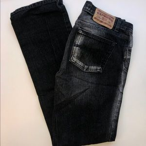 Early 2000's Express Black Jeans Precision Fit
